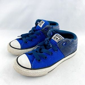 Converse Blue White Casual Kids Boys Sneakers